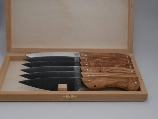 set-de-couteau-artisanal-bois-olivier-heritier-loic