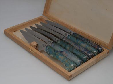 set-de-couteau-artisanal-van-gogh-cezanne-coutelier-loic-heritier