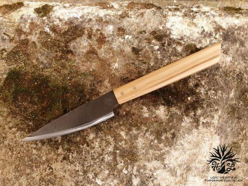 couteau office le petit chose inox et bois olivier